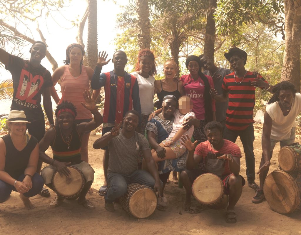 photo groupe guinée