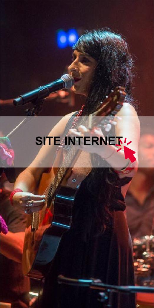 Irina Gonzalez - site internet